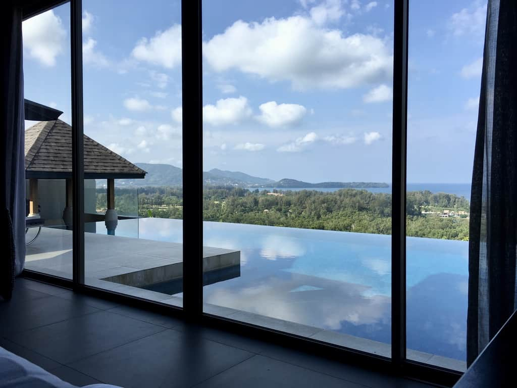 Our honeymoon villa in Thailand at The Pavilions Phuket
