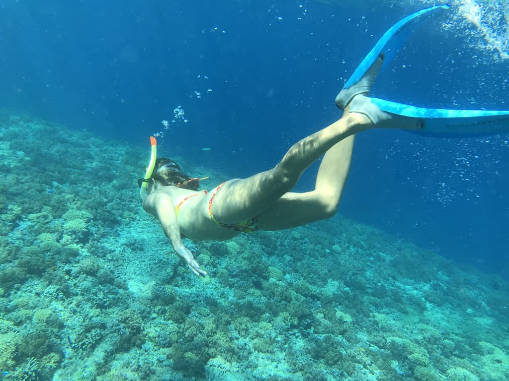 Joannda snorkelling - Check what activities are covered when deciding on the best travel insurance cover